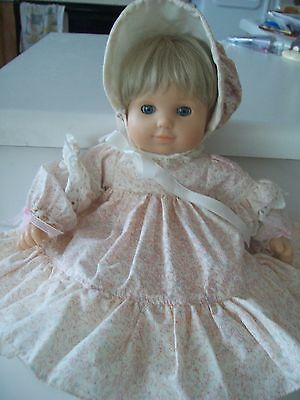 """American Girl 15""""  Baby Doll With Blonde Hair And Blue Eyes"""