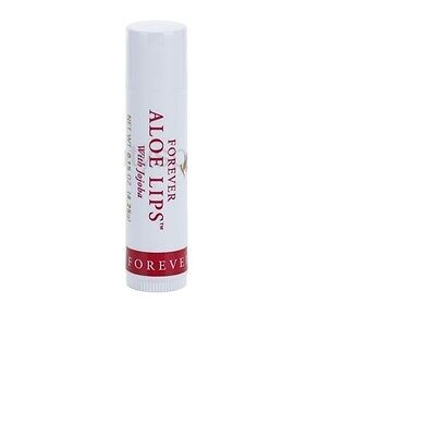 New Forever Living Aloe Lips - Lip Balm With Jojoba and Aloe Vera.