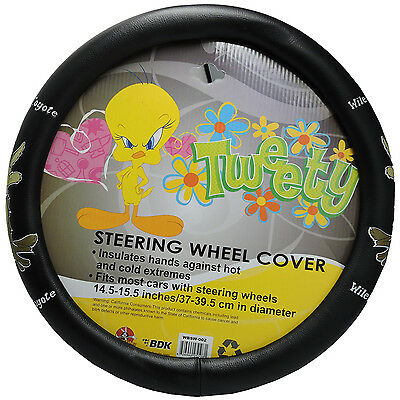 Looney Tunes Wile E. Coyote Character Steering Wheel Cover Universal Fit