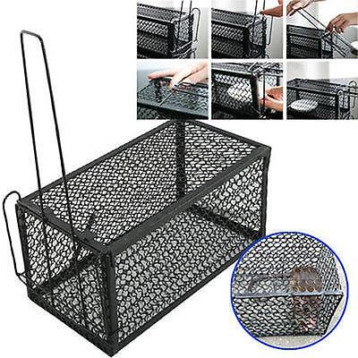 2x Rat Catcher Spring Cage Trap Humane Large Live Animal Rodent Indoor Outdoor,,