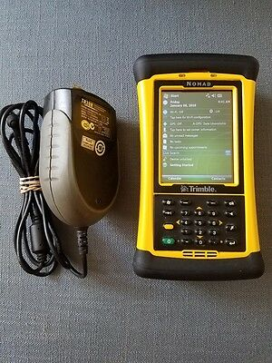 Trimble Tds Nomad With Survey Pro And Survce Data Collector