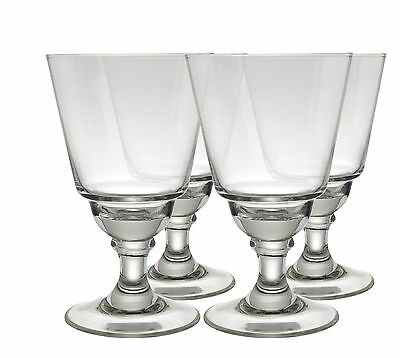 LYON ABSINTHE GLASSES without CUTS, SET OF 4, B-STOCK