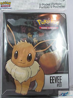 Ultra Pro Pokemon Eevee #133 Evolutions 9-Pocket Portfolio Pages For Cards