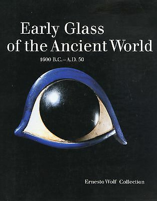 Antique Ancient Glass 1,600 BC - AD 50 / In-Depth Illustrated Book (429 Pages)