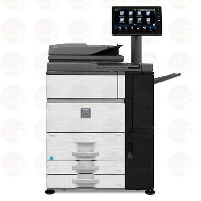 Sharp MX-7500N Color Production Laser Printer Copier Scanner 75 PPM