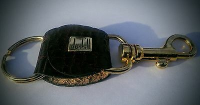 Dunhill Gold Plated Crocodile Keyring Keychain