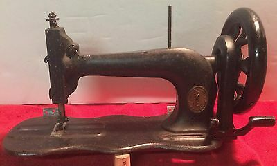 1877 Singer Antique Model 12 Fiddlebed Treadle Sewing Machine