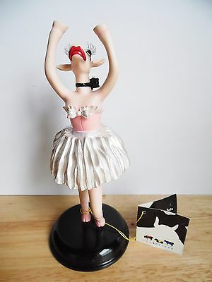 2003 Cow Parade #7263  Figurine Moo Moo in a Tutu ~EXCC~ No box 1 DAY SHIPPING