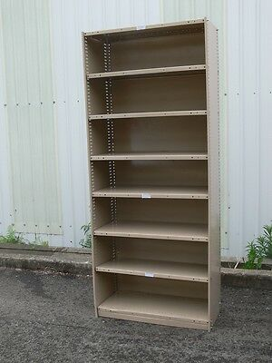 Shelving Brown Built Industrial storage warehouse garage bay shop display Retail