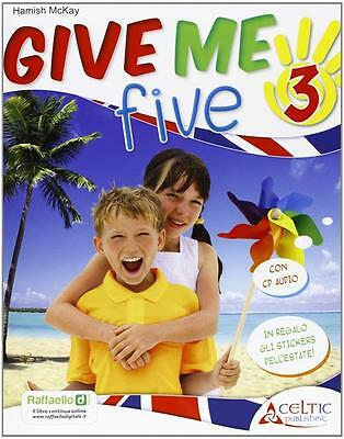 *8847218845* Give Me Five. Con Cd Audio. Per La 3ª Classe Elementare | Mckay Ham