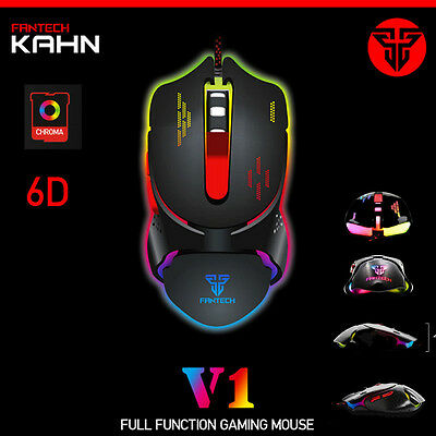 Adjustable 2400 DPI LED Optical Wired Gaming Mouse Game Mice For Laptop PC Mouse