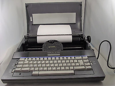 Smith Corona Electric Typewriter Model Deville 650 vintage 1980s tested