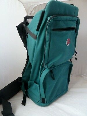 Bushbaby Child / Toddler Back Pack Baby Carrier In Green