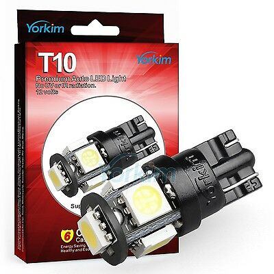 194 LED Light bulb, Yorkim 2015 Newest, 5th Generation, Interior Lights for W5W