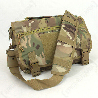Multitarn Camo Messenger Case - Molle Bag Carrier Satchel Pack Army Military