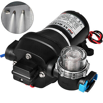 10LPM 12V 17PSI Diaphragm Water Pump Self Priming Caravan Boat High Pressure