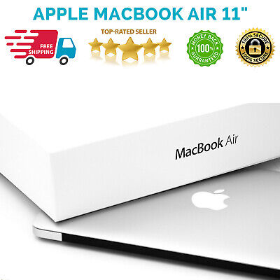 "Apple MacBook Air 11"" Core i5 1.6ghz 4GB 128GB (March 2015) A Grade Warranty BOX"