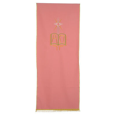 Rose Lectern Cover in polyester, book Alpha and Omega