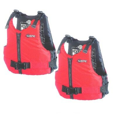 2 Crewsaver Red 50N Response Buoyancy Aid Watersports Sailing canoe kayak