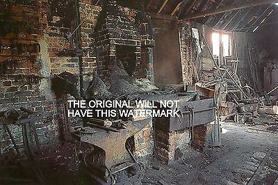 Bramley Hampshire The Village Forge 1895 Vintage Mounted Print Farming History