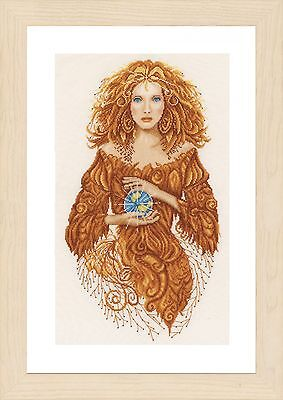 Mother Earth (Evenweave):  Lanarte Counted Cross Stitch Kit - PN0156302