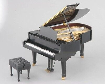 Used Genuine SEGA TOYS Black Grand Pianist From Japan