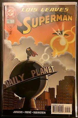 Superman (Vol 2) #115 VF NM- 1st Print DC Comics