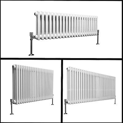 Traditional Victorian Column Radiator Horizontal Central Heating Cast Iron Style