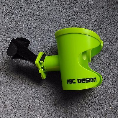 Lime green ABC Design cup holder, fits most pushchairs/prams - RRP £20 - VGC