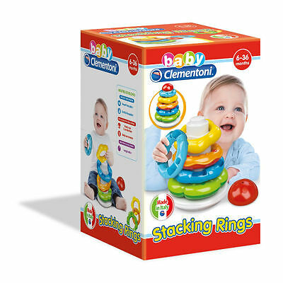 Baby Clementoni - Stacking Rings - Baby Toy