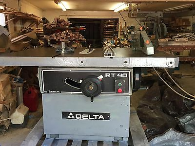 Delta RT40 Table Saw in good condition