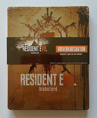 Steelbook Resident Evil Biohazard PS4 / neuf blister . new . perfect condition