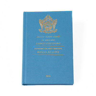 Book of Constitutions United Grand Lodge of England