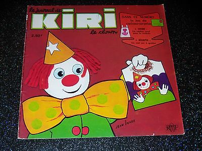 Le Journal De Kiri Le Clown - N°  5 - 1971 - Ortf