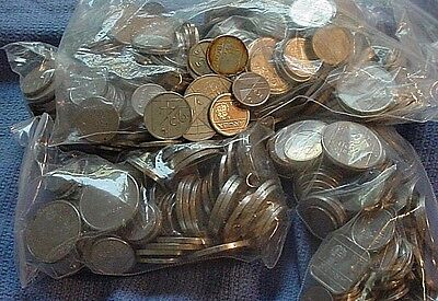 Huge Lot of Over 400 Aruba Coins - 5,10, 25 50 Cents & 1 FLORIN NETHERLANDS
