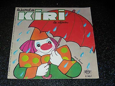 Le Journal De Kiri Le Clown - N° 19 -  Novembre 1972 - Ortf