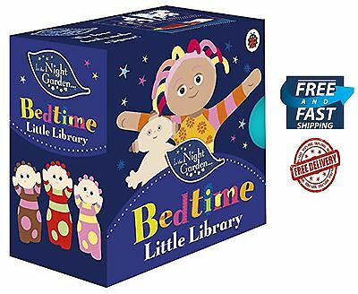 In the Night Garden Bedtime Hardcover Little Library 4 Books Baby & Toddler NEW