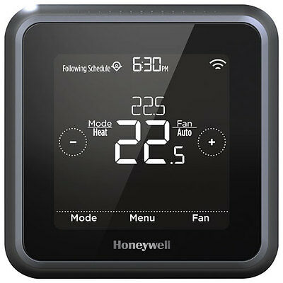 Honeywell Lyric T5 WIFI Touchscreen Smart Thermostat w/ LED Display - RCHT8610WF