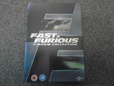 Fast and Furious DVD Complete Set  1 2 3 4 5 6 & 7