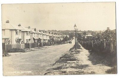 BROADSTONE Dorset, Clarendon Road, RP Postcard Postally Used 1929