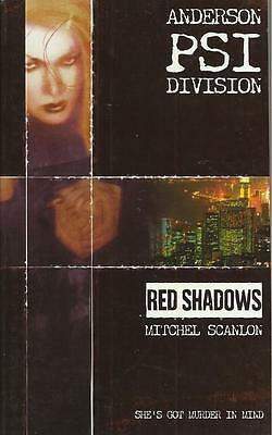 2000 Ad Anderson Psi Division Novel - Red Shadows - Mitchel Scanlon
