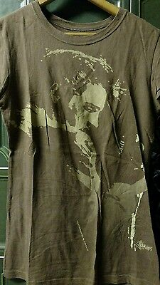 Elvis Presley T-shirt size small brown womens