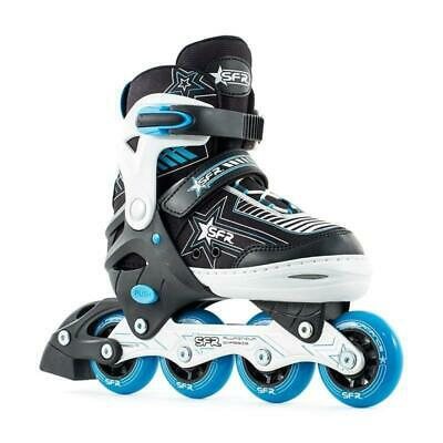 SFR Pulsar Kids Adjustable Inline Skates - Blue