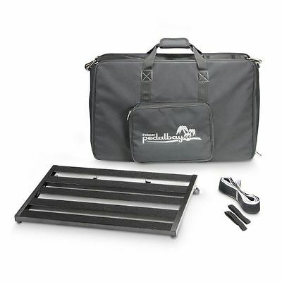 Palmer MI Pedalbay 60L Lightweight Variable Pedalboard With Protective Softca...
