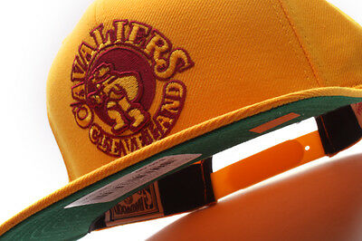 05bde9a9cfd1e5 Cleveland Cavaliers Mitchell & Ness (NL15Z TSC 5CAVAL) Solid Snapback Hat