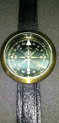 Japan Vintage 1960's Wrist Compass ~Working ~ Shipping Included