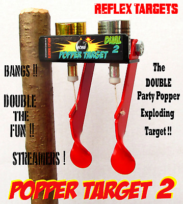 Popper Target - Airgun Air Rifle Pistol Gun