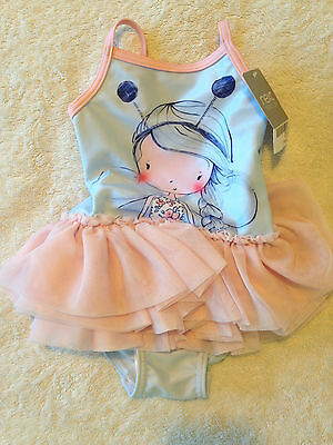 NEW Next Girls Swimming Costume Age 3 to 6 Months RRP £12