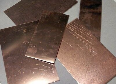 Copper Scrap - 1 Pound - Squares & Rectangles -  FREE USA SHIPPING