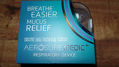 aerosure medic+ respiratory mucus device breathe easier new improved model